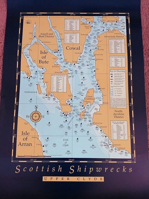 Clyde Shipwreck Map