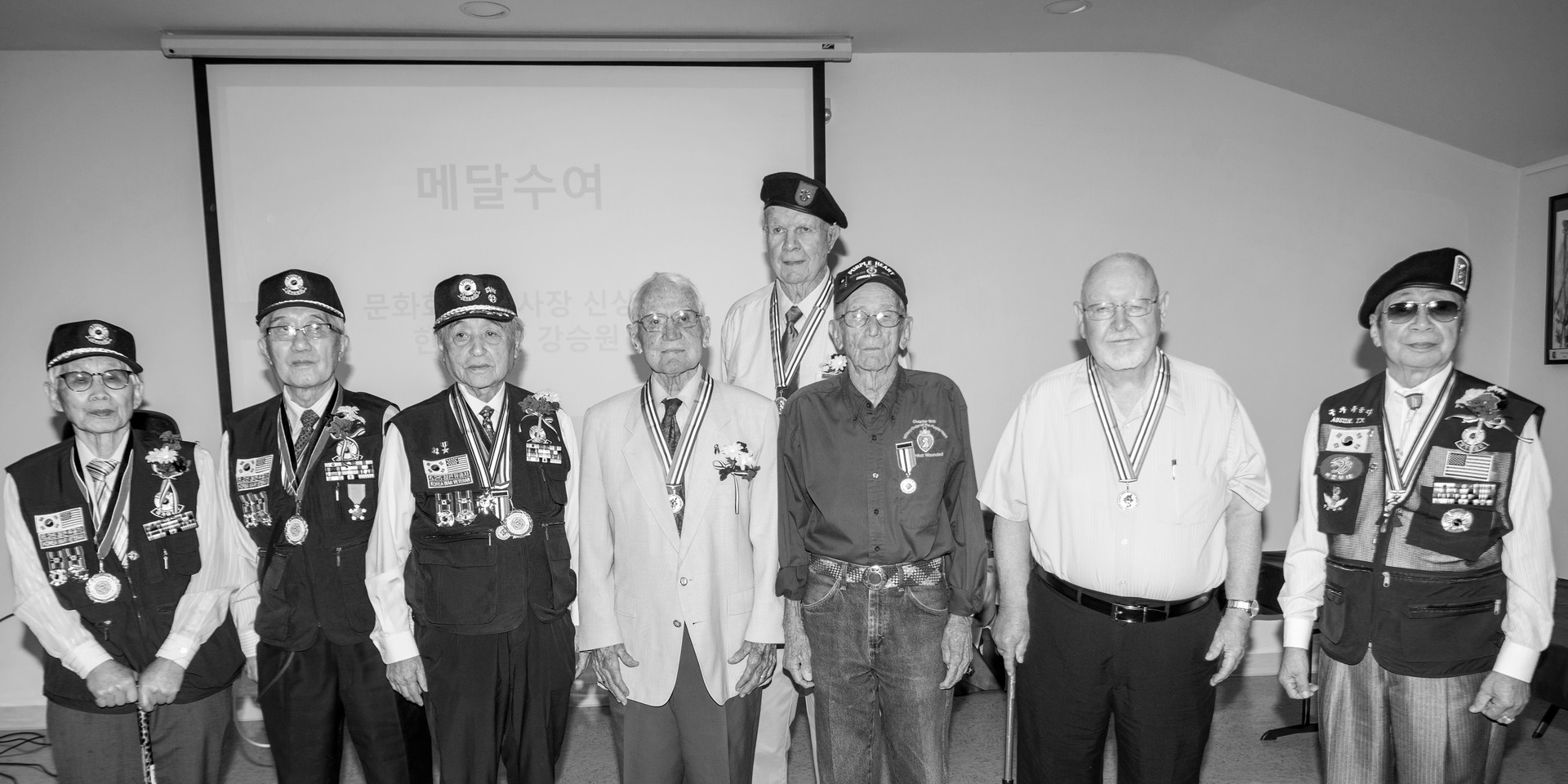 Korean war veterans in Austin(2019.6.15)