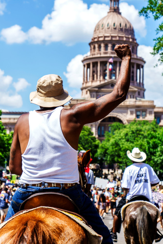 BLM in Austin