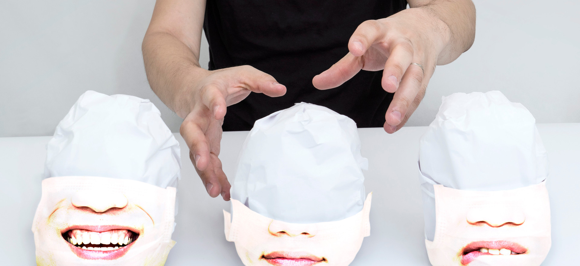COVID-19 SCENERY -face masks(Limited Edition of 5)