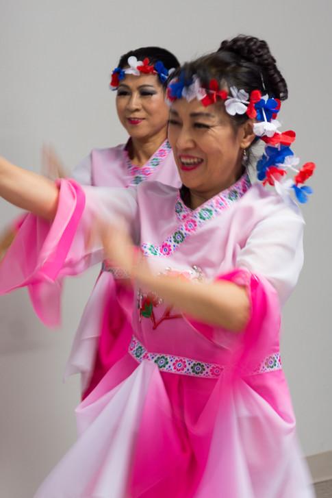 Dance for Korean War Veterans