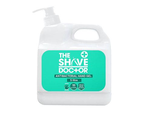 5 Litre Antibacterial Hand Gel With Pelican Pump