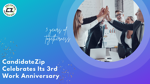 CandidateZip celebrates its 3rd anniversary.png