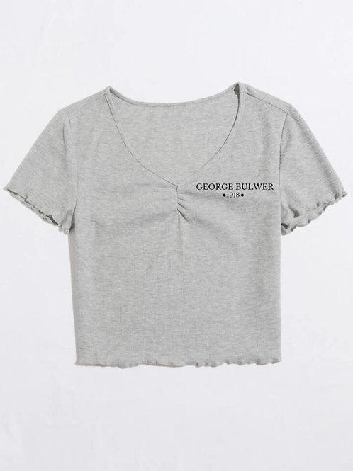 Ladies Lettuce-Trimmed T-Shirt