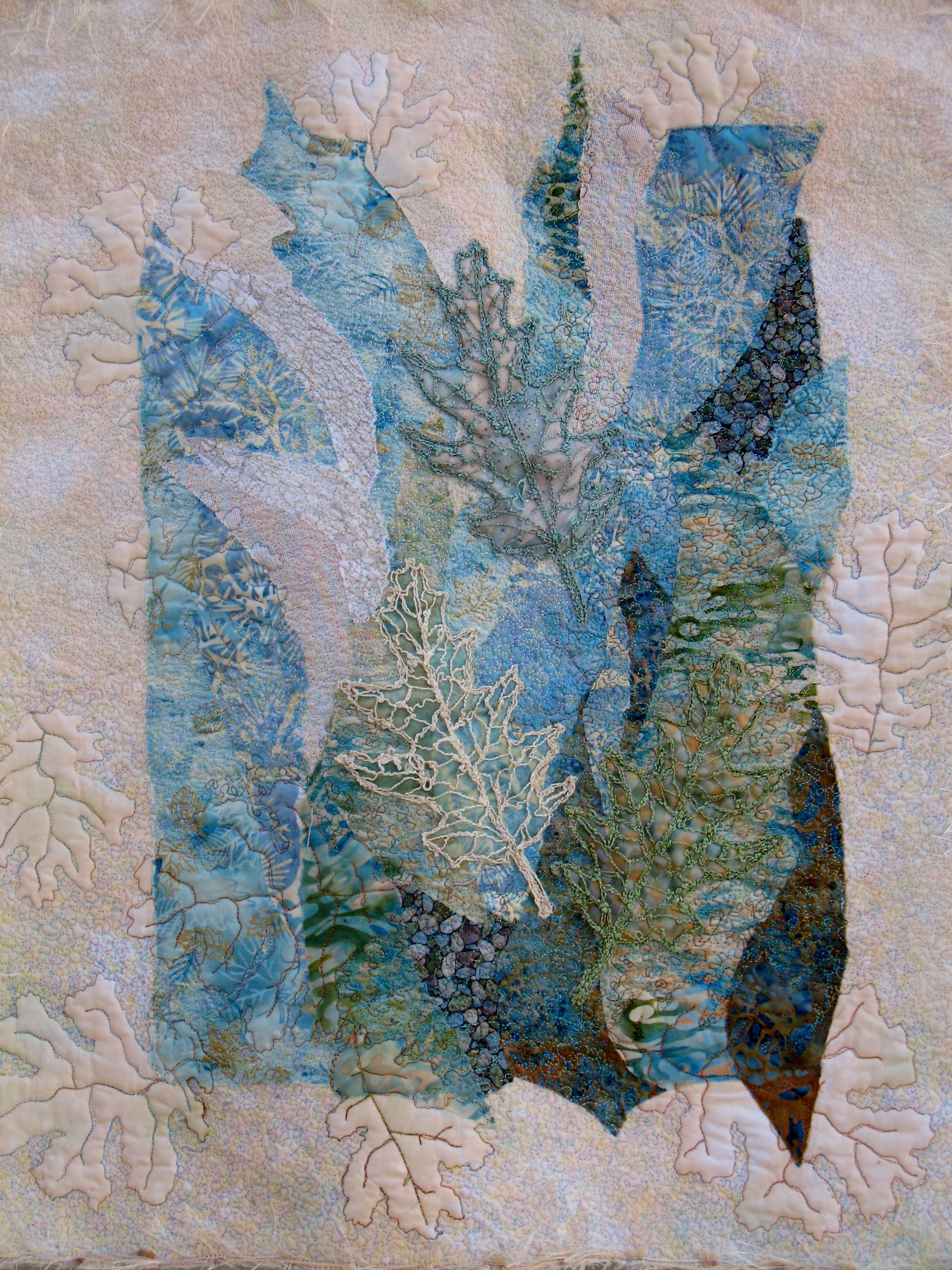 Parchment Oak Leaves