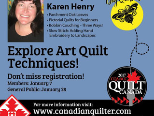 Quilt Canada 2017 coming up!