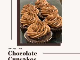 Moorish Chocolate Cupcakes