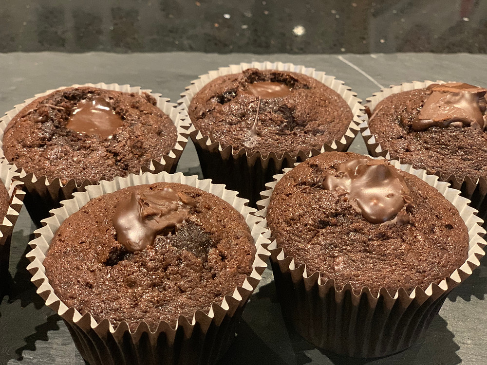 centre filled cupcakes