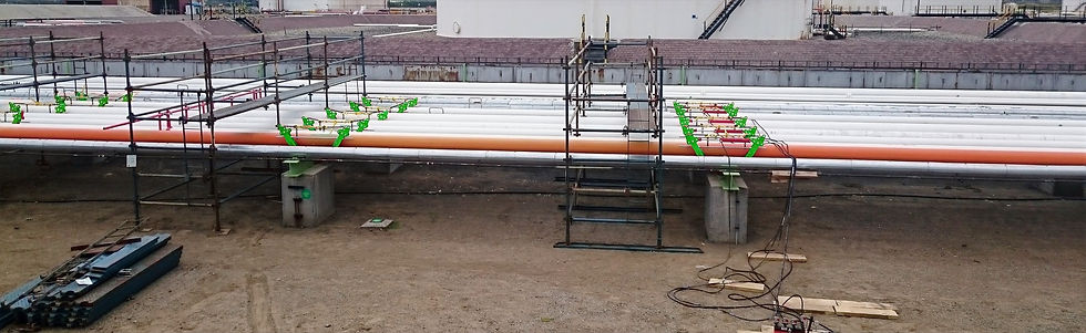 Ovolifts - Corrosion Under Pipe Supports | Pipe Rack Jack | Engineered Touchpoint Access | Line Lifting | Pipe Jack | Multiple Pipes