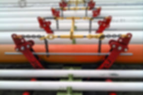 Pipe Corrosion - Touchpoint Corrosion - Ovolifts - Pipe Jack - On-Stream Repair - Pipe Inspection - Pipe Rack Jack