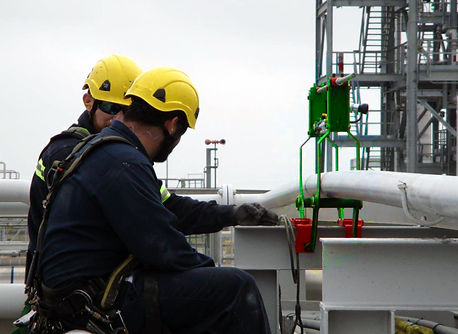 Rope Access | NDT | I-Rod Installation