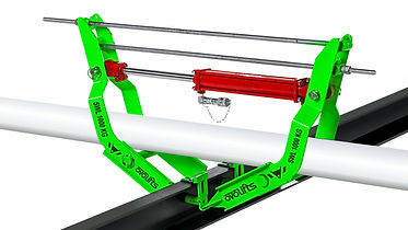 Ovolifts   Pipe Rack Jack   Engineered Pipe Lifts   Engineered Touchpoint Access