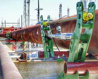 Corrosion Under Pipe Supports | Touchpoint Corrosion TPC | Ovolifts | NDT | On-stream Line Lifting