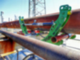 Pipe Jack - Pipe Inspection - Pipe Integrity - Pipe Lifts - Corrosion Under Pipe Supports (CUPS)