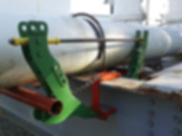 Ovolifts - Pipe Rack Jack - Asset Integrity - Corrosion Under Pipe Supports (CUPS) - Touchpoint Corrosion