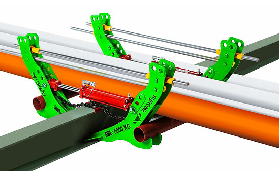 Ovolifts Multi-Jack - Pipe Rack Jack - Pipe Lift - Corrosion Under Pipe Supports (CUPS) - Touchpoint Corrosion