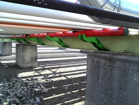 Ovolifts | Corrosion Under Pipe Supports | Pipe Rack Jack
