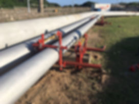 Pipe Jack - Ovolifts - Touchpoint Corrosion - On-Stream Repair - Corrosion Under Pipe Supports (CUPS)