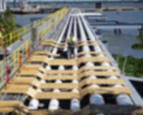 Pipe Rack Jack - Ovolifts - Marine Terminal - Touchpoint Corrosion - Pipe Integrity