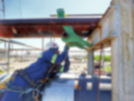 On-Stream Pipe Lifts - On-Stream Inspection - Pipe Rack Jack - Ovolifts - Corrosion Under Pipe Supports (CUPS)