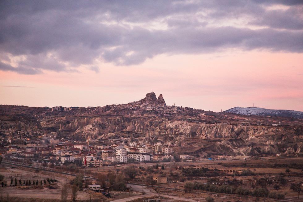 Good morning Uchisar, Goreme, Turkey, 2017