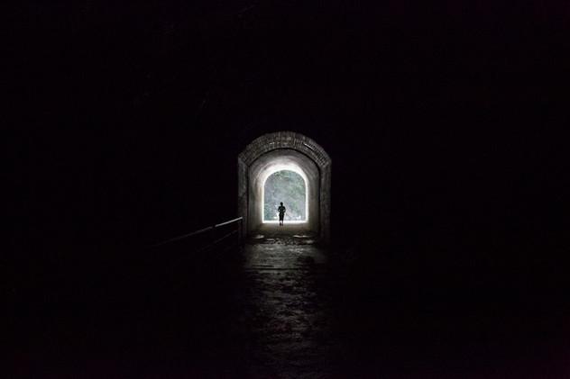 The end of the tunnel, Taroko, Taiwan, 2015