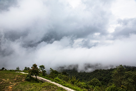 Over the clouds, Doi Ithanon, Thailand, 2015