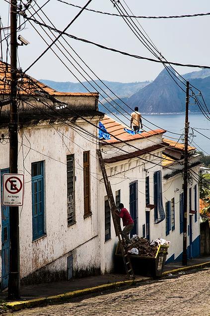 spying camera on the roof,Rio de Janeiro