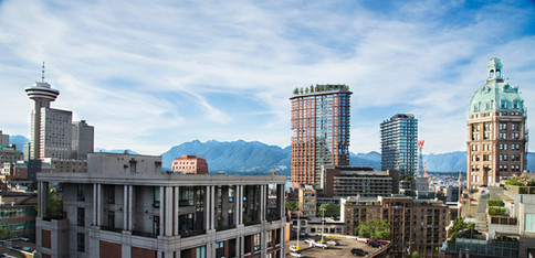 Vancouver city view, Canada, 2016