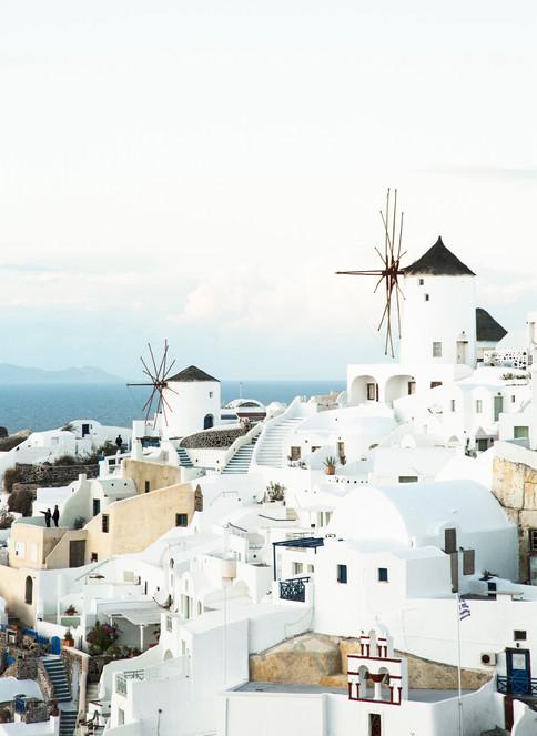 Wind mill, Oia, Santorini, Greece, 2017