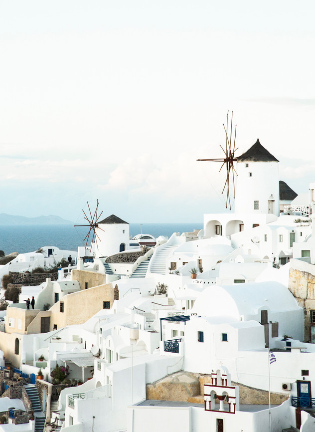 Wind mill, Oia, Santorini, Greece, 2017
