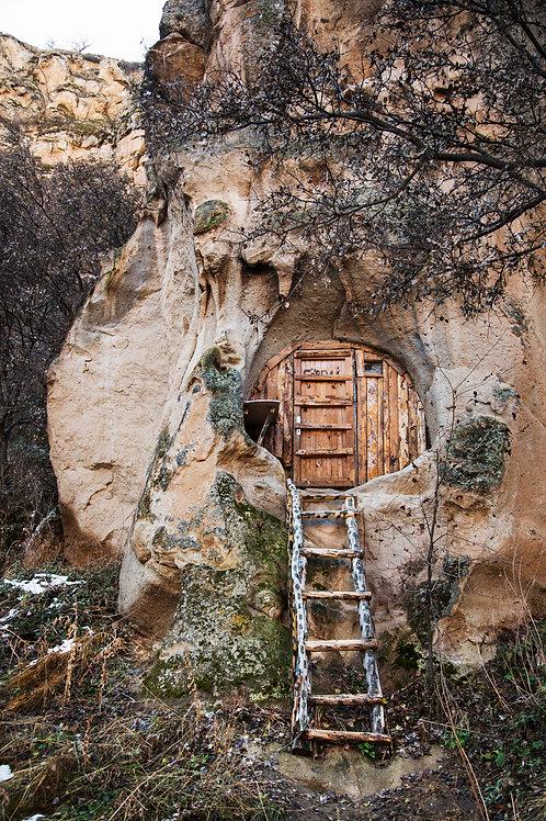 Cabin in the rock