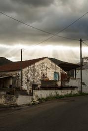 Dramatic light through the clouds, Crète, Grèce, 2017