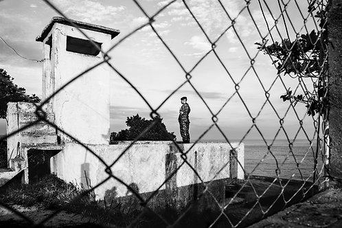 Military between the fence, Rio de Janeiro