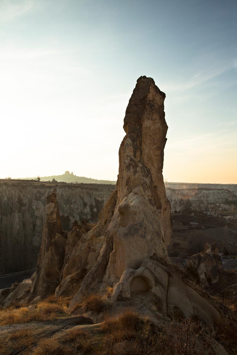 Majestic rock, Cappadocia, Turkey, 2017