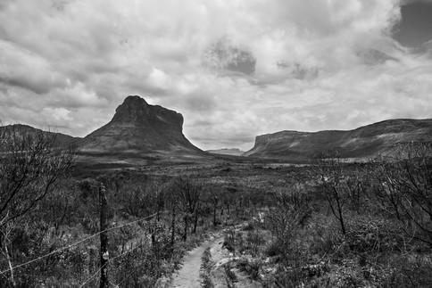 Walking in the valley, Chapada Diamantina, Brazil, 2014