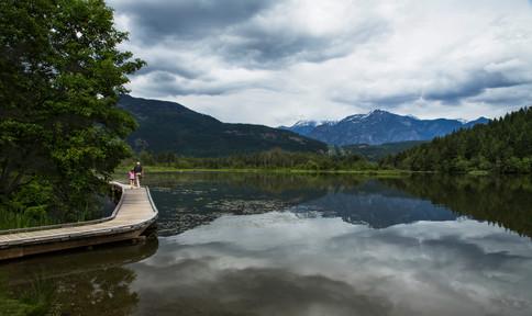 One mile lake, Pemberton, BC, Canada, 2016