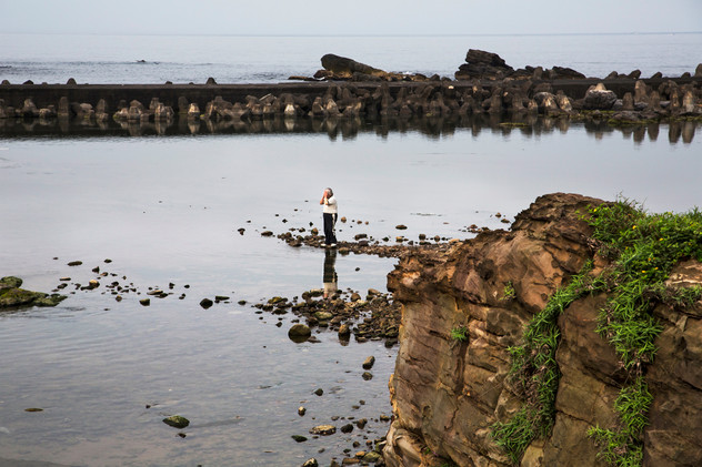 Alone time with nature, Longdong bay, Taiwan, 2015