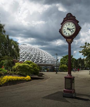 The clock is ticking, Queen Elizabeth park, Vancouver, Canada, 2016