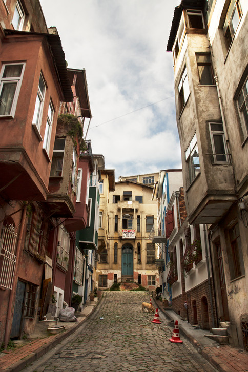 Balat street, Istanbul, Turkey, 2017