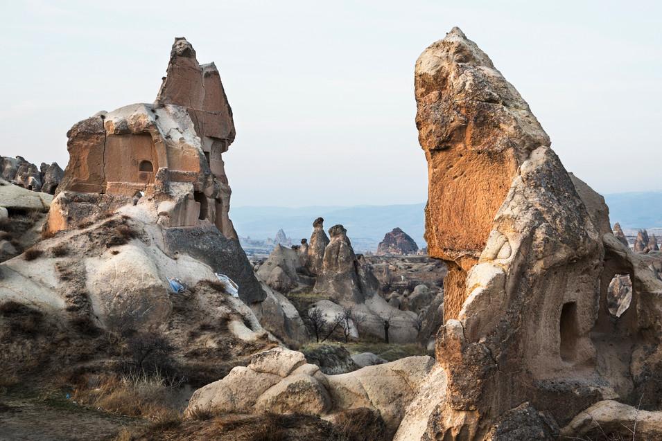 Walking through the valley, Goreme, Turkey, 2017