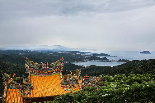 Orange temple, Taiwan