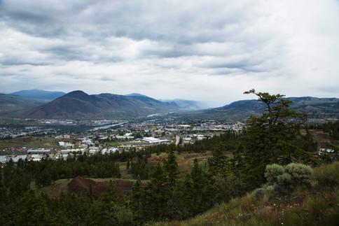 Kamloops city view, Canada, 2016