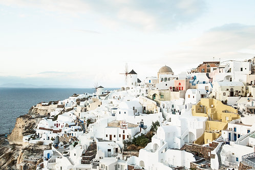 Afternoon view on Oia