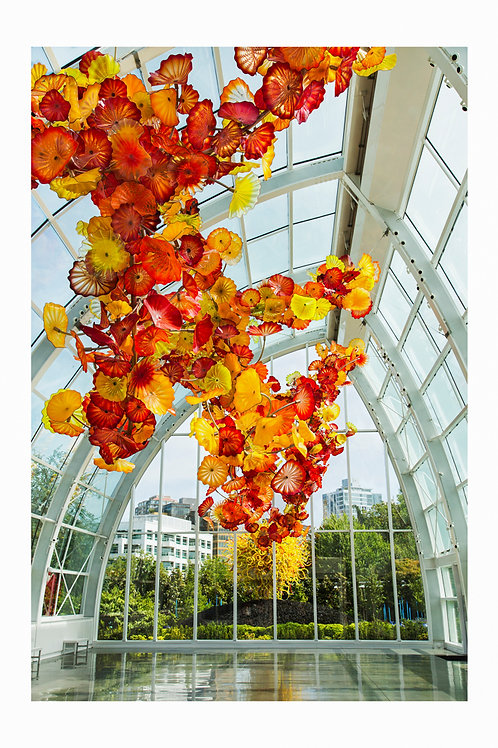 Chihuly green house, Seattle
