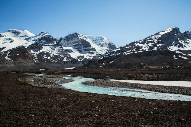 Athabasca Glacier, Jasper, Canada, 2016