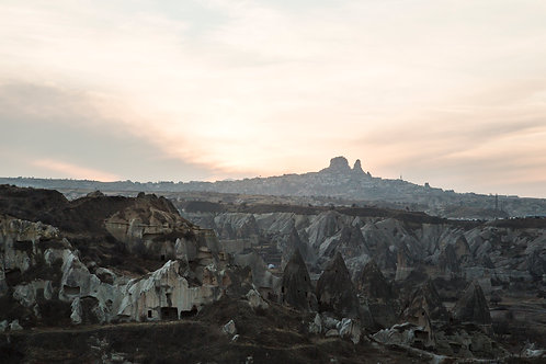 Sunset view point, Cappadocia