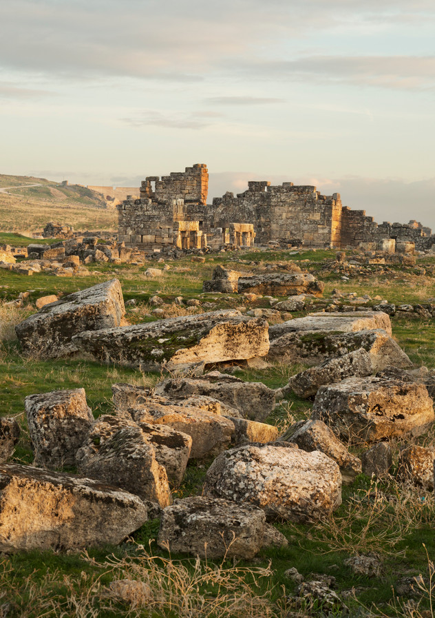 Hierapolis ruins, Pamukkale, Turkey, 2017