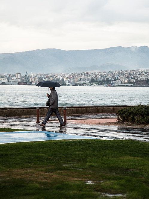 Rainy day in Izmir