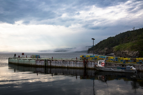 Calm before the flood, Forillon national park, Gaspésie, Canada, 2017